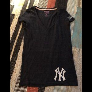 Pink New York Yankees